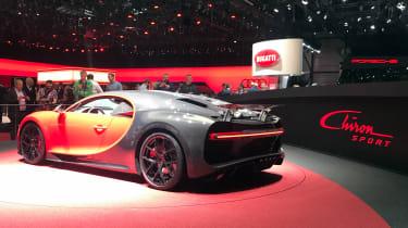 Bugatti Chiron Sport –rear quarter