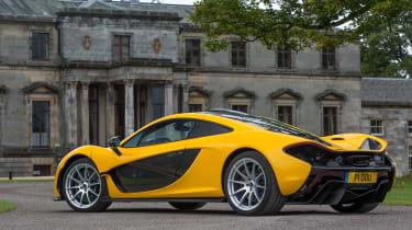 McLaren P1 yellow - rear static