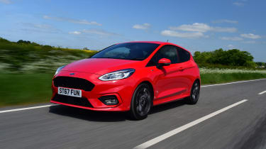 Ford Fiesta ST-Line UK - side