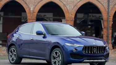 Maserati Levante - front three quarter