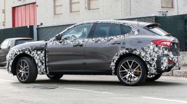 Maserati Levante spied - side