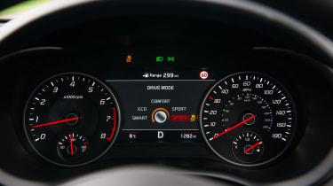 Kia Stinger GT S - Dials
