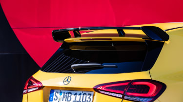 Mercedes-AMG A35 - wing