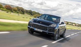 Porsche Cayenne E-Hybrid – front