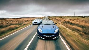 Aston Martin Vanquish S and DB11