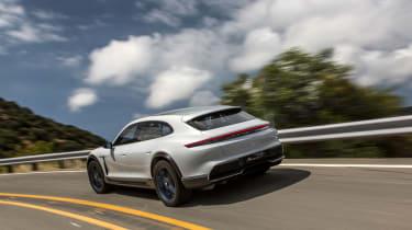 Porsche Mission E Cross Turismo - rear quarter