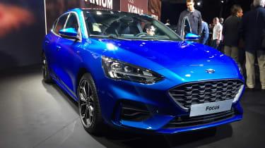 Ford Focus launch - front quarter