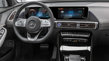 Mercedes EQC AMG-line - dash