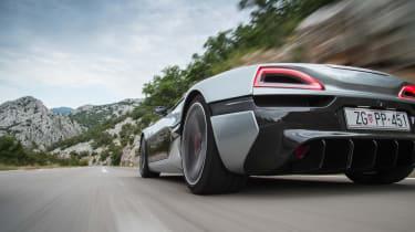 Rimac Concept One - rear