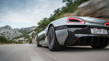 Rimac Concept One - rear