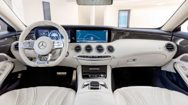 Mercedes S 63 Coupe - interior 2