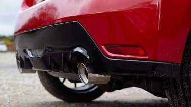 2020 Toyota GR Yaris Red - exahaust