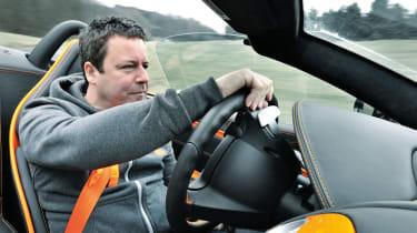 McLaren Edition Mercedes SLR driven by Richard Meaden