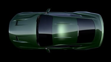 Ford Mustang Bullitt Steve McQueen edition - top