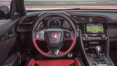 Honda Civic Type R - interior