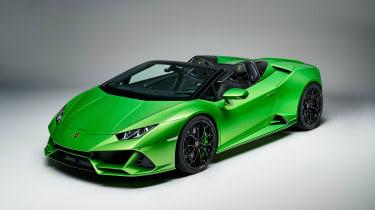 Lamborghini Huracan Evo Spyder - front quarter