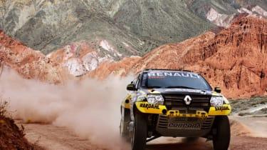 Renault Duster Dakar - front