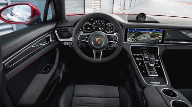 2018 Porsche Panamera GTS cabin