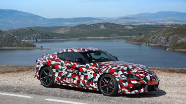 Toyota Supra proto drive -