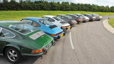Porsche 911 through the ages