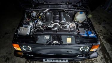 Bishops Heritage Range Rover – engine bay
