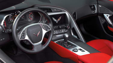 2014 Chevrolet Corvette Stingray Z51 interior