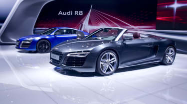 Audi R8 Spider and Coupe
