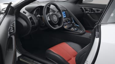 Jaguar F-type R Coupe interior dashboard