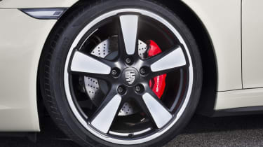Porsche 911 50th Anniversary Edition Fuchs alloy wheel