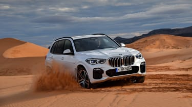 2018 BMW X5 - front driving