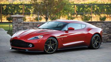 Aston Martin Vanquish Zagato front