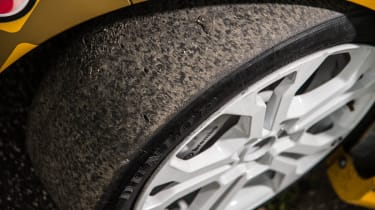 Renault Clio Cup racer slick tyre