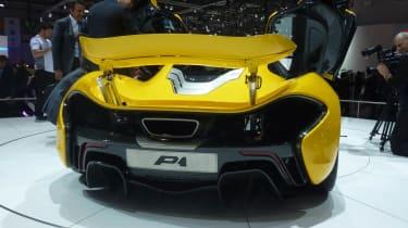 McLaren P1 rear spoiler