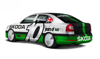 Skoda Octavia vRS Bonneville speed record car