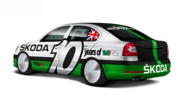 Skoda Octavia vRS Bonneville speed record car