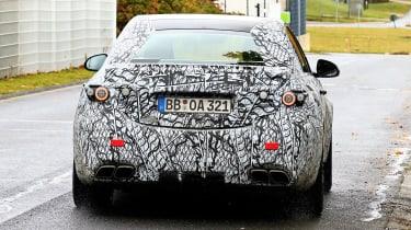 Mercedes-AMG C63 2021 spy - rear