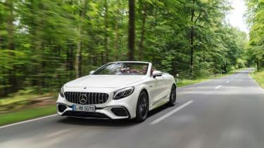 Mercedes S 63 Coupe - front quarter