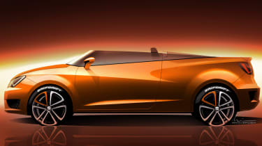 SEAT Ibiza Cupster concept shown