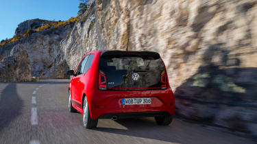 Volkswagen Up GTI 2018 rear tracking