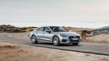 2018 Audi A7 Sportback press - front driving