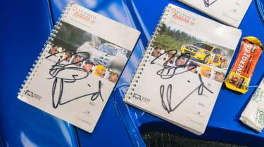 Subaru Impreza S6 WRC – sign