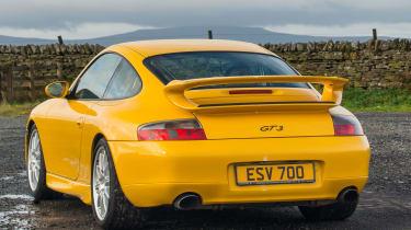 Porsche 911 GT3 996 – rear quarter