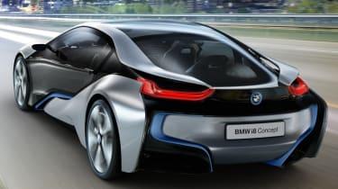 BMW i8 hybrid supercar concept