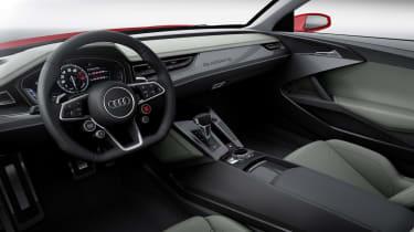 Audi Sport Quattro laserline interior