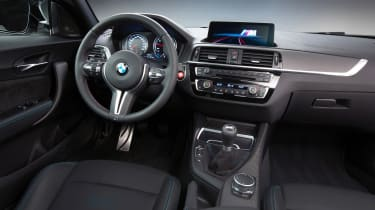 BMW M2 Competition Pack - dash