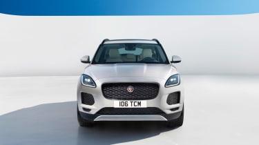 Jaguar E-Pace - white static head