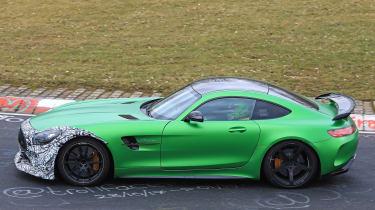 Mercedes-AMG GT R spy 2018 - profiile