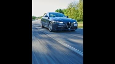 Alfa Romeo Giulia - front driving shot