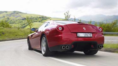 Ferrari 599 HGTE rear