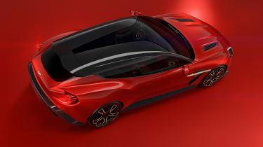 Aston Martin Vanquish Zagato Shooting Brake - top
